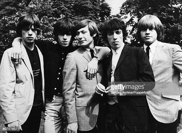 March 1965 The Rolling Stones group leftright Mick Jagger Keith Richards Charlie Watts Bill Wyman Brian Jones