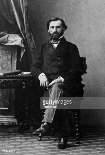 Music Portrait of Italian composer Guiseppe Verdi