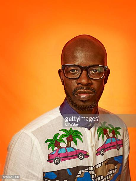 Music producer and DJ Black Coffee is photographed for MixMag on June 8 2015 in London England