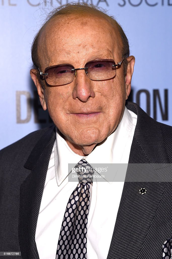 Music Producer Clive Davis attends a screening of 'Demolition' hosted by Fox Searchlight Pictures with the Cinema Society at the SVA Theater on March 21, 2016 in New York City.