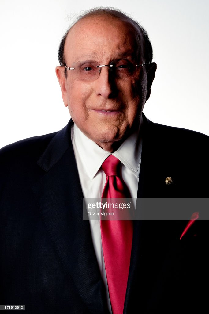 Music Producer Clive Davis is photographed on September 2, 2017 in Deauville, France.