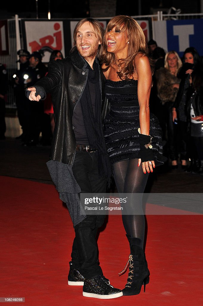 Music producer David Guetta and Cathy Guetta attend the NRJ Music Awards 2011 on January 22 2011 at the Palais des Festivals et des Congres in Cannes...