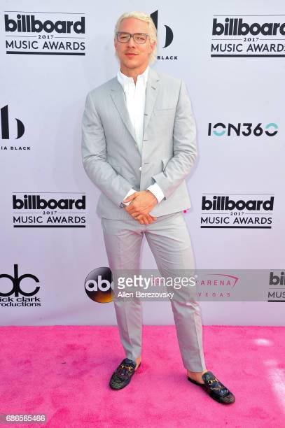Music producer Diplo arrives at 2017 Billboard Music Awards at TMobile Arena on May 21 2017 in Las Vegas Nevada
