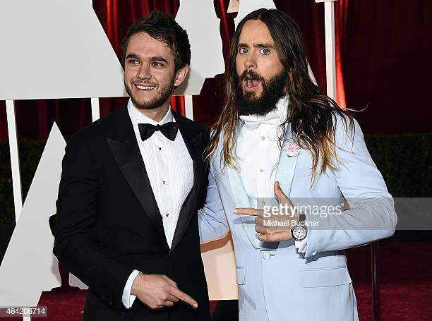 Music Producer/ Dj Zedd and actor Jared Leto attend the 87th Annual Academy Awards at Hollywood Highland Center on February 22 2015 in Hollywood...