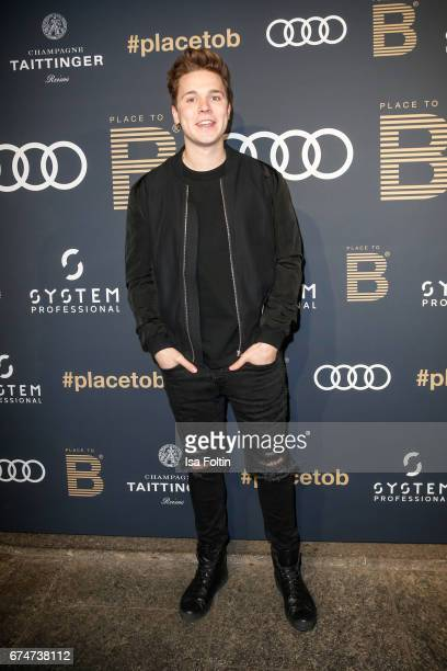 Music producer Felix Jaehn attends the Place To Be Party after the Lola German Film Award on April 28 2017 in Berlin Germany
