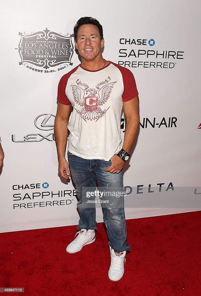 Music producer Jeff Blue attends Ultimate Bites of L.A. Presented by Chase Sapphire Preferred, Hosted by Chef Graham Elliot & Fabio Viviani on August 21, 2014 in Los Angeles, California.