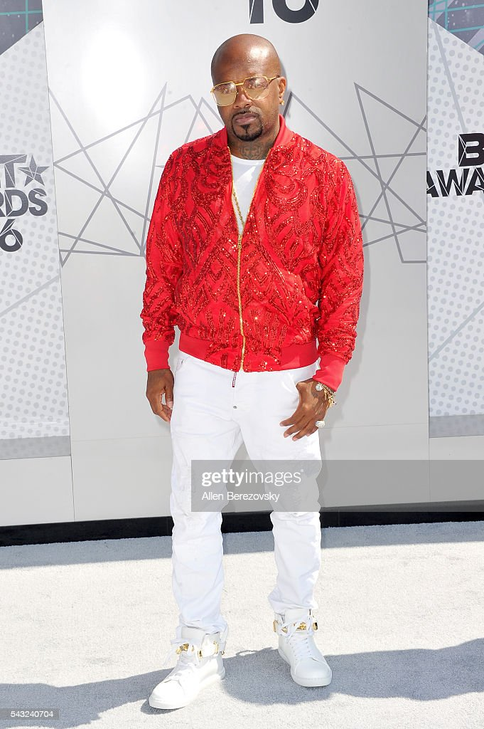 Music producer <a gi-track='captionPersonalityLinkClicked' href=/galleries/search?phrase=Jermaine+Dupri&family=editorial&specificpeople=201712 ng-click='$event.stopPropagation()'>Jermaine Dupri</a> attends the 2016 BET Awards at Microsoft Theater on June 26, 2016 in Los Angeles, California.