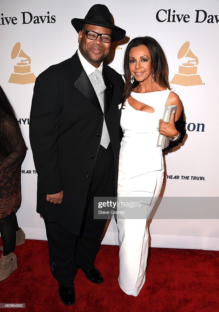 Music producer Jimmy Jam and Lisa Harris attend the PreGRAMMY Gala and Salute To Industry Icons honoring Martin Bandier on February 7 2015 in Los...