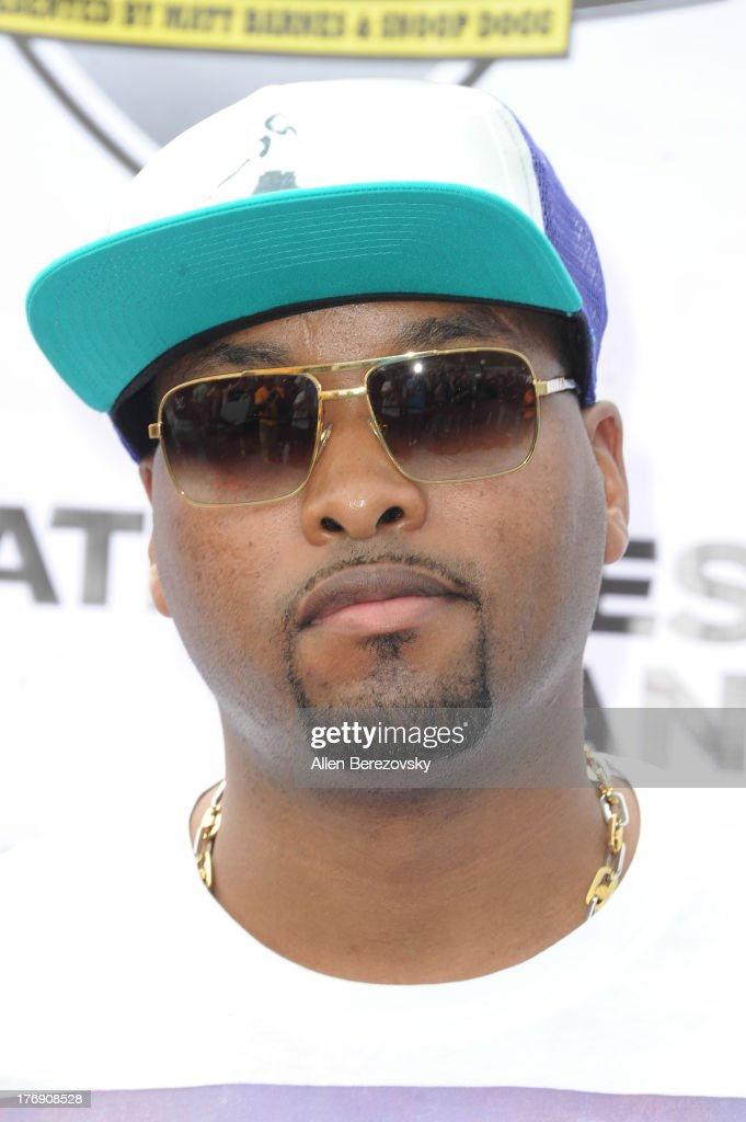 Music producer Keith Harris attends the 1st Annual Athletes VS Cancer Celebrity Flag Football Game on August 18, 2013 in Pacific Palisades, California.