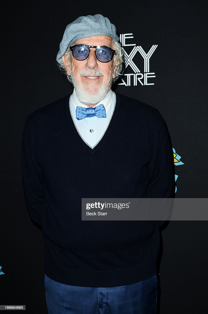 Music producer Lou Adler arrives at 'Cheech And Chong's Animated Movie!' VIP green carpet premiere at The Roxy Theatre on April 17, 2013 in West Hollywood, California.