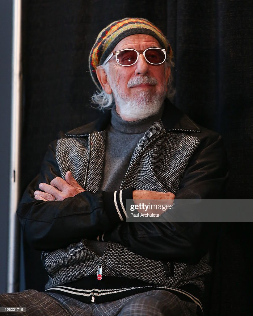 Music producer <a gi-track='captionPersonalityLinkClicked' href=/galleries/search?phrase=Lou+Adler+-+Record+Producer&family=editorial&specificpeople=228945 ng-click='$event.stopPropagation()'>Lou Adler</a> attends the announcements for the 2013 inductees to the 28th annual Rock And Roll Hall of Fame induction ceremony at Nokia Theatre LA Live on December 11, 2012 in Los Angeles, California.