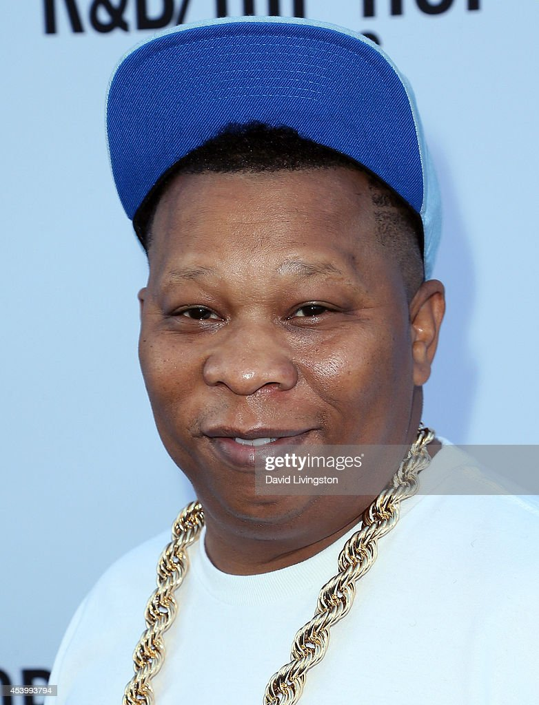 Music producer <a gi-track='captionPersonalityLinkClicked' href=/galleries/search?phrase=Mannie+Fresh&family=editorial&specificpeople=2116985 ng-click='$event.stopPropagation()'>Mannie Fresh</a> attends the 2014 BMI R&B/Hip-Hop Awards at the Pantages Theatre on August 22, 2014 in Hollywood, California.