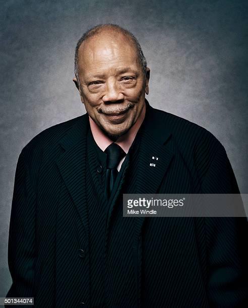 Music producer Quincy Jones poses for a portrait at the Sinatra 100 An AllStar GRAMMY Concert at Wynn Las Vegas on December 2 2015 in Las Vegas Nevada