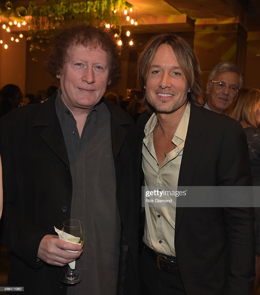 Music producer Randy Scruggs and singer-songwriter Keith Urban attend the BMI 2014 Country Awards at BMI on November 4, 2014 in Nashville, Tennessee.