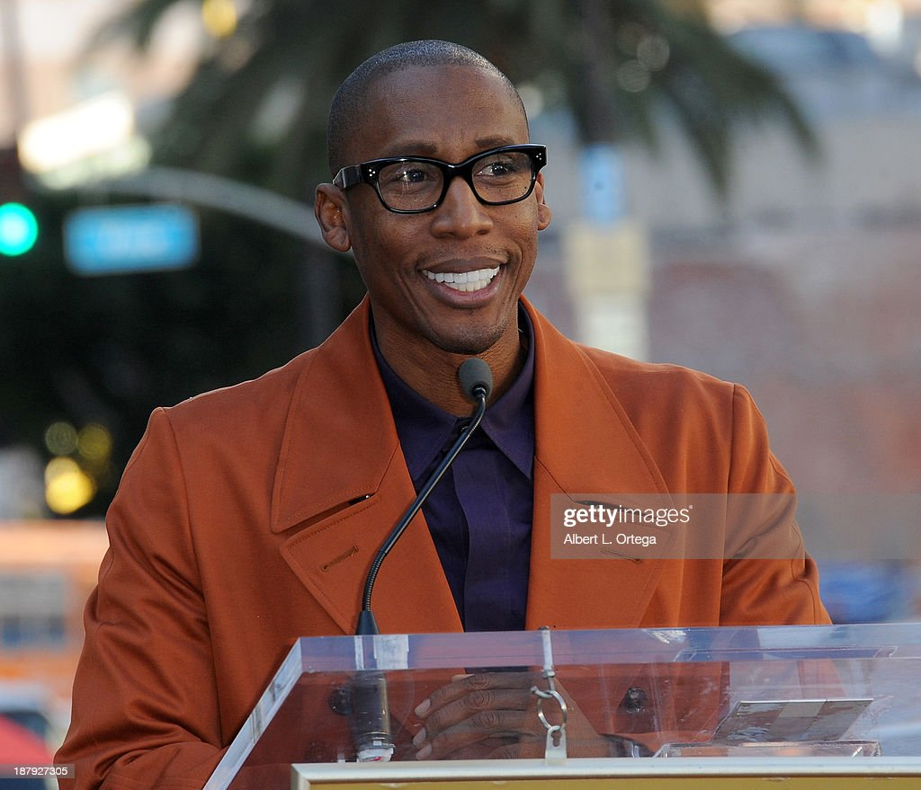 Music producer <a gi-track='captionPersonalityLinkClicked' href=/galleries/search?phrase=Raphael+Saadiq&family=editorial&specificpeople=858977 ng-click='$event.stopPropagation()'>Raphael Saadiq</a> attends Jennifer Hudson's Star ceremony on The Hollywood Walk Of Fame on November 13, 2013 in Hollywood, California.