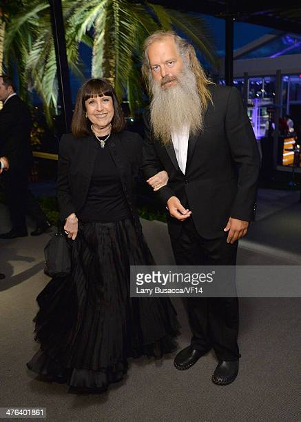 Music producer Rick Rubin attend the 2014 Vanity Fair Oscar Party Viewing Dinner Hosted By Graydon Carter on March 2 2014 in West Hollywood California