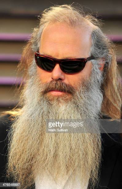 Music producer Rick Rubin attends the 2014 Vanity Fair Oscar Party hosted by Graydon Carter on March 2 2014 in West Hollywood California