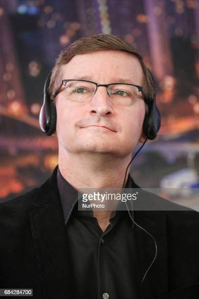 Music producer Robert Townson during the opening press conference of 10 edition of the annual Film Music Festival in Krakow Poland 17 May 2017...