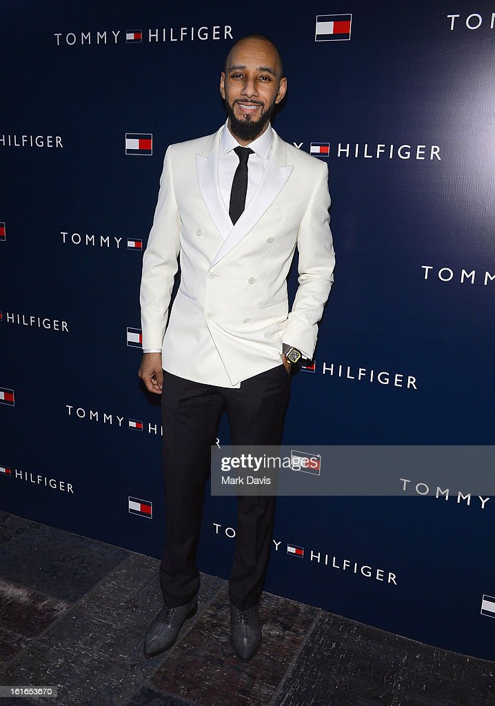 Music producer <a gi-track='captionPersonalityLinkClicked' href=/galleries/search?phrase=Swizz+Beatz&family=editorial&specificpeople=567154 ng-click='$event.stopPropagation()'>Swizz Beatz</a> attends Tommy Hilfiger New West Coast Flagship Opening After Party at a Private Club on February 13, 2013 in West Hollywood, California.