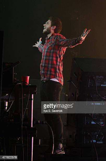 Music producer Zedd performs onstage during day 2 of the Firefly Music Festival on June 19 2015 in Dover Delaware