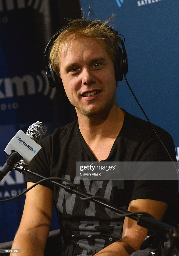 Music producer/DJ <a gi-track='captionPersonalityLinkClicked' href=/galleries/search?phrase=Armin+van+Buuren&family=editorial&specificpeople=801189 ng-click='$event.stopPropagation()'>Armin van Buuren</a> attends 'Armin Only' hosted by Ben Harvey on BPM at SiriusXM Studios on December 13, 2013 in New York City.