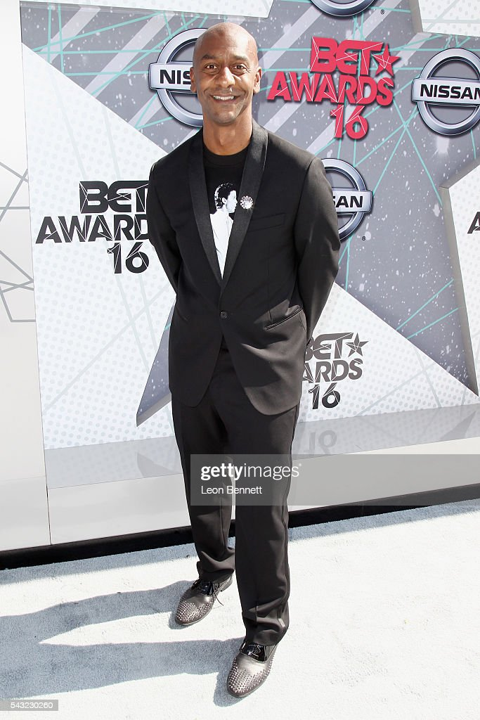 Music Programming and Specials President Stephen G Hill attends the Make A Wish VIP Experience at the 2016 BET Awards on June 26 2016 in Los Angeles...