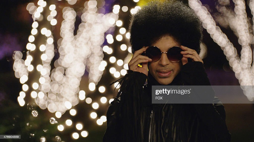 Music royalty <a gi-track='captionPersonalityLinkClicked' href=/galleries/search?phrase=Prince+-+Musician&family=editorial&specificpeople=203048 ng-click='$event.stopPropagation()'>Prince</a> in the '<a gi-track='captionPersonalityLinkClicked' href=/galleries/search?phrase=Prince+-+Musician&family=editorial&specificpeople=203048 ng-click='$event.stopPropagation()'>Prince</a>' episode of NEW GIRL airing Sunday, Feb. 2, 2014 (approx. 10:30-11:00 PM ET/7:30-8:00 PM PT), immediately after FOX Sports' coverage of SUPER