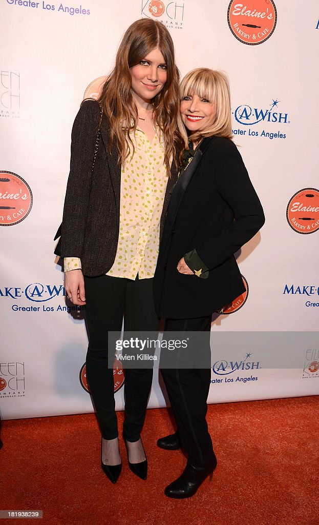 Music supervisor Joey Lauren Koch and publicist Eileen Koch attend Elaine's Bakery And Cafe Celebrates Grand Opening At Brentwood Gardens on September 24, 2013 in Los Angeles, California.