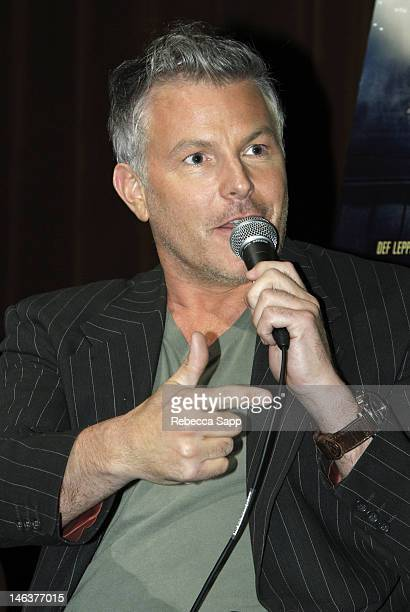 Music supervisor Matt Sullivan at 'Rock Of Ages' private GRAMMY screening and QA at Warner Bros Studios on June 14 2012 in Burbank California