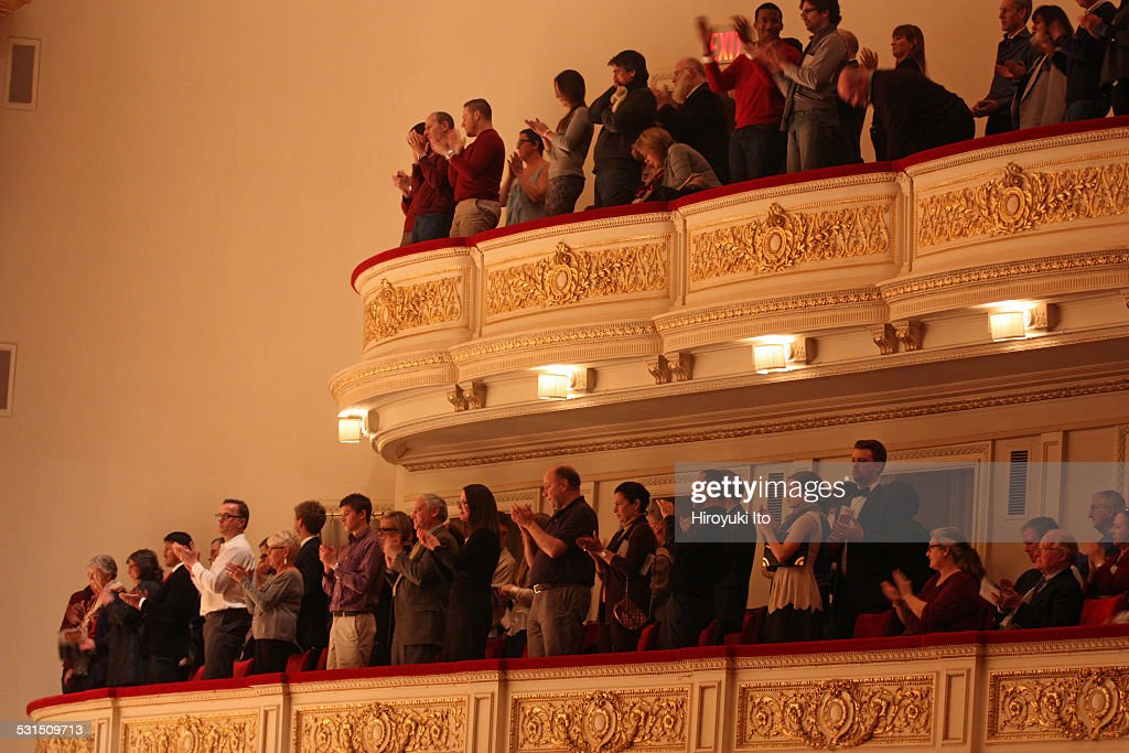 Musica Sacra performing Handel's 'Messiah' at Carnegie Hall on Tuesday night December 23 2014This imageAs part of the holiday tradition audience...