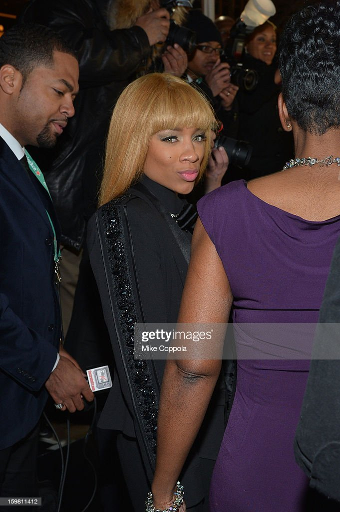 Musicains Lil' Mama attends The Hip Hop Inaugural Ball II sponsored by Heineken USA at Harman Center for the Arts on January 20, 2013 in Washington, DC.