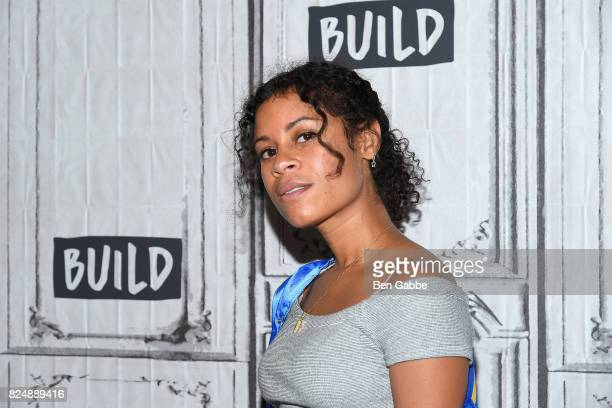 Musical Artist Aluna Francis attends the Build Series to discuss her new singles 'Turn Up The Love' And 'Last Kiss' at Build Studio on July 31 2017...