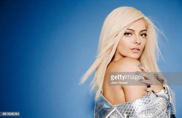 Musical artist Bebe Rexha is photographed for Le Fair Magazine on February 24 2017 in Los Angeles California