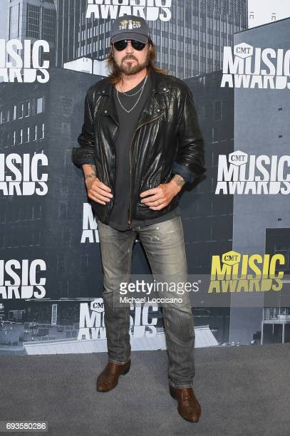 Musical artist Billy Ray Cyrus attends the 2017 CMT Music Awards at the Music City Center on June 7 2017 in Nashville Tennessee