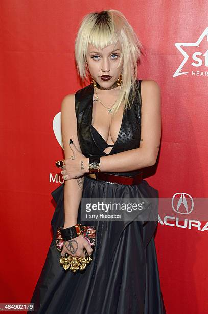 Musical artist Brooke Candy attends 2014 MusiCares Person Of The Year Honoring Carole King at Los Angeles Convention Center on January 24 2014 in Los...