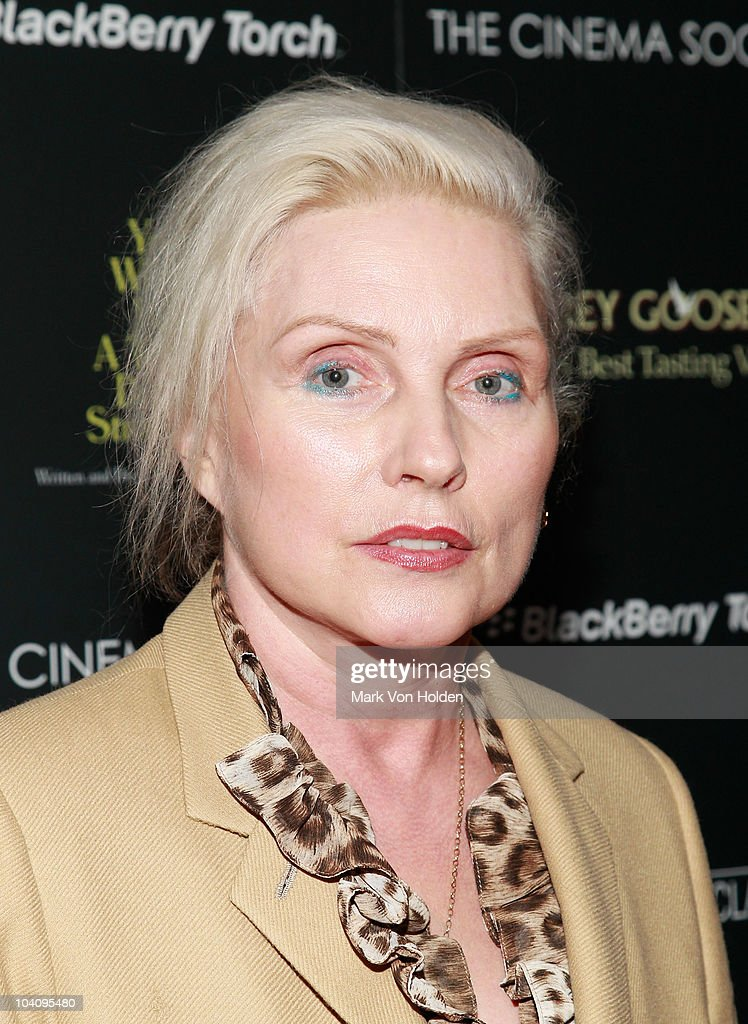 Musical artist Deborah Harry attends the Cinema Society and BlackBerry Torch screening of 'You Will Meet a Tall Dark Stranger' at MOMA on September 14, 2010 in New York City.