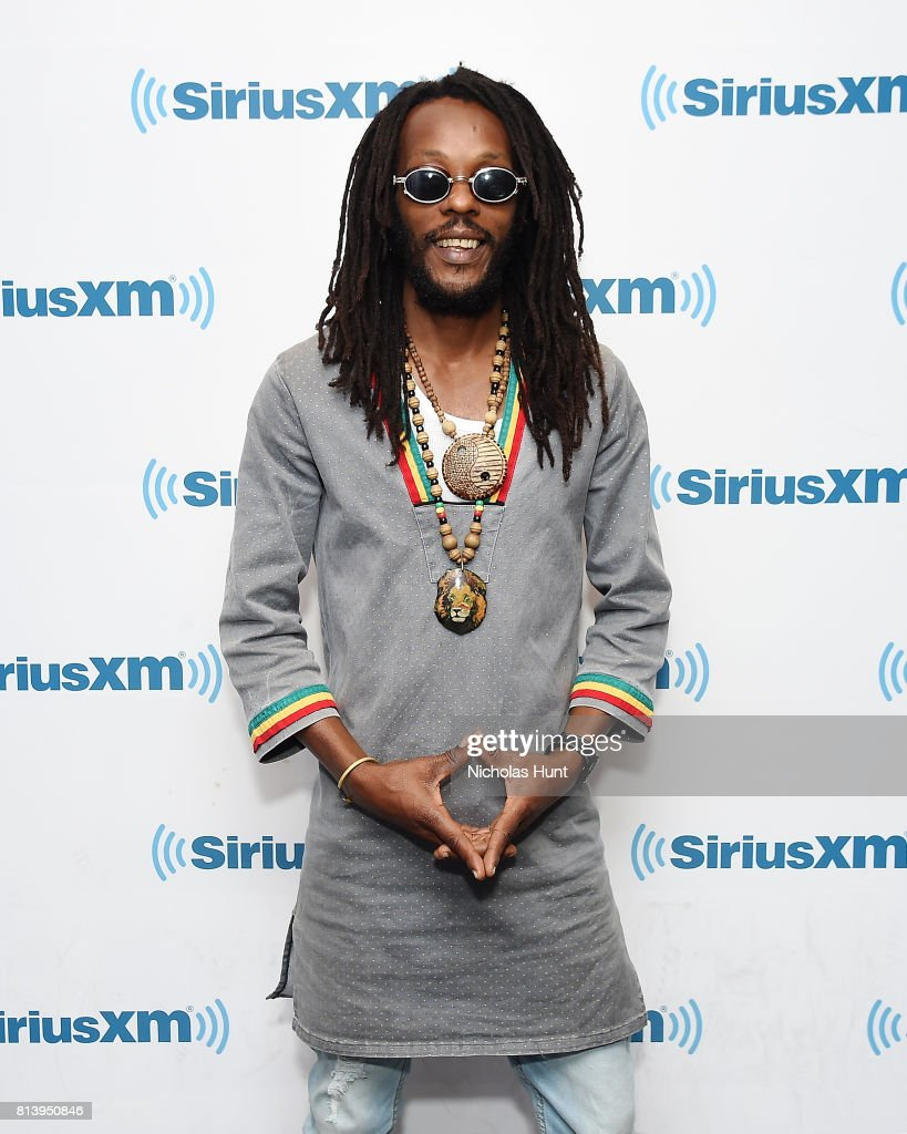 Musical artist Droop Lion Visits SiriusXM Studios on July 13, 2017 in New York City.