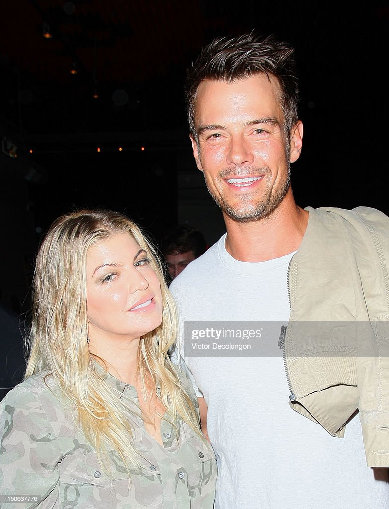 Musical artist Fergie and actor <a gi-track='captionPersonalityLinkClicked' href=/galleries/search?phrase=Josh+Duhamel&family=editorial&specificpeople=208740 ng-click='$event.stopPropagation()'>Josh Duhamel</a> attend the screening of 'Alekesam' at Sonos Studio on August 22, 2012 in Los Angeles, California.