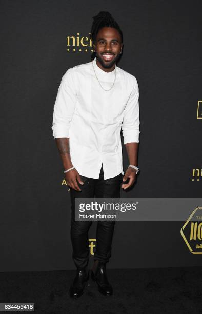 Musical artist Jason Derulo attends Billboard Power 100 Red Carpet at Cecconi's on February 9 2017 in West Hollywood California