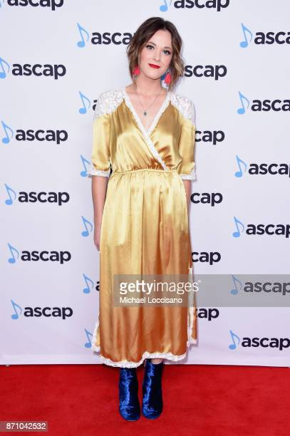 Musical artist Jillian Jacqueline attends the 55th annual ASCAP Country Music awards at the Ryman Auditorium on November 6 2017 in Nashville Tennessee