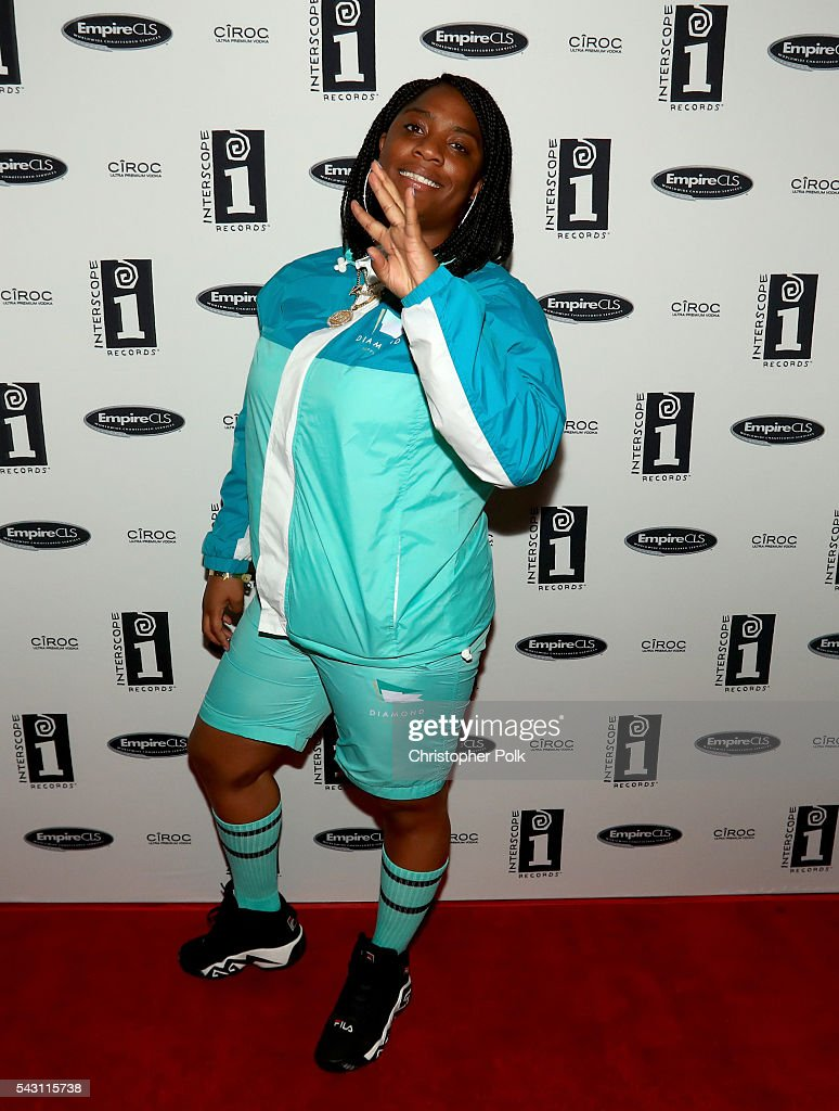 Musical artist Kamaiyah attends the Interscope BET Party at The Reserve on June 25, 2016 in Los Angeles, California.