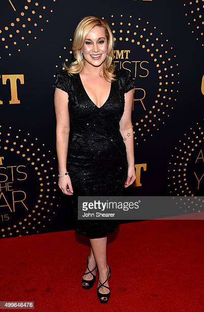 Musical artist Kellie Pickler attends the 2015 'CMT Artists of the Year' at Schermerhorn Symphony Center on December 2 2015 in Nashville Tennessee