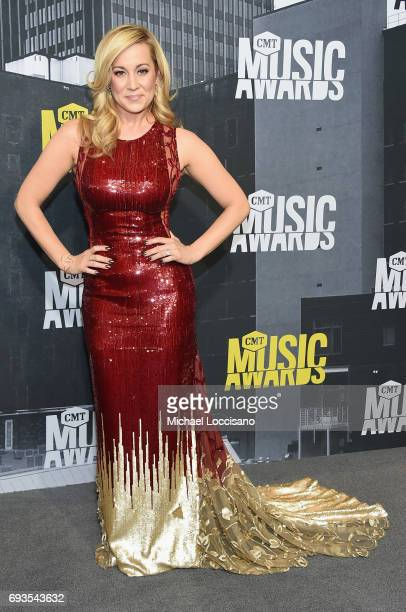 Musical artist Kellie Pickler attends the 2017 CMT Music Awards at the Music City Center on June 7 2017 in Nashville Tennessee