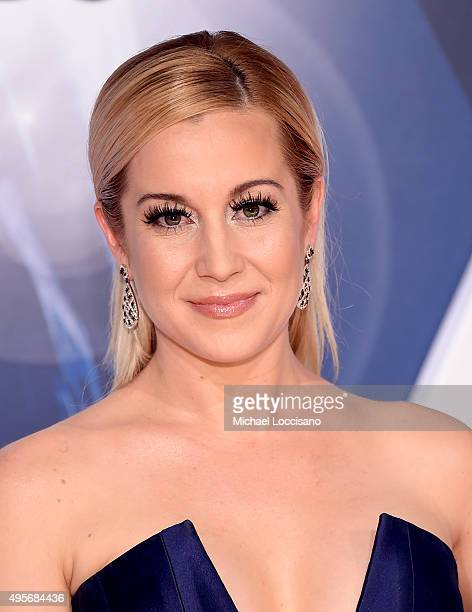 Musical artist Kellie Pickler attends the 49th annual CMA Awards at the Bridgestone Arena on November 4 2015 in Nashville Tennessee