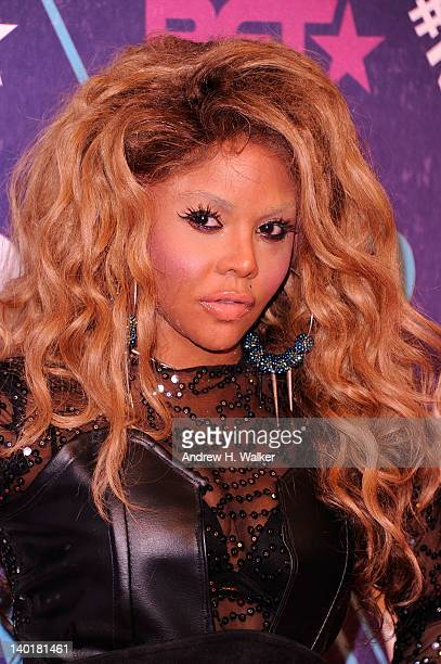 Musical artist Lil' Kim attends BET's Rip The Runway 2012 at Hammerstein Ballroom on February 29 2012 in New York City