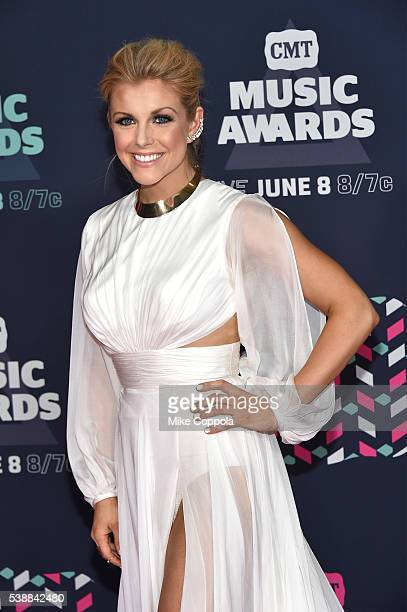 Musical artist Lindsay Ell attends the 2016 CMT Music awards at the Bridgestone Arena on June 8 2016 in Nashville Tennessee