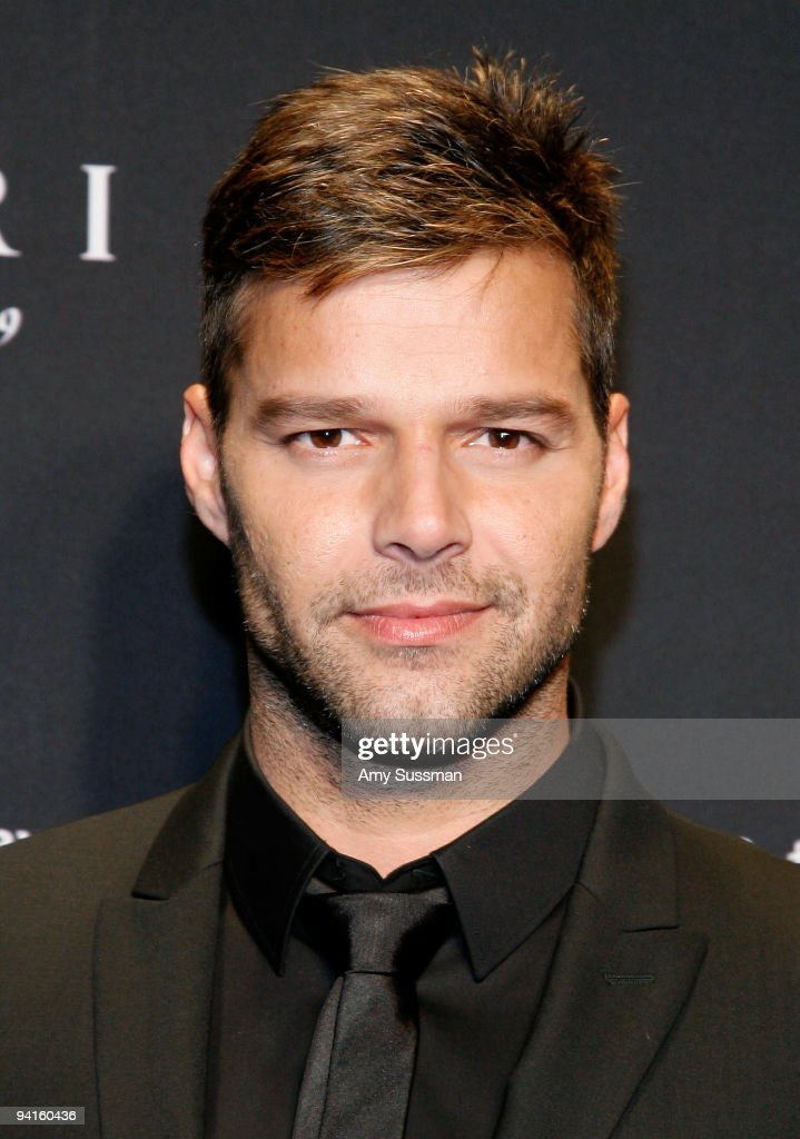 Musical artist <a gi-track='captionPersonalityLinkClicked' href=/galleries/search?phrase=Ricky+Martin&family=editorial&specificpeople=160450 ng-click='$event.stopPropagation()'>Ricky Martin</a> attends the Bulgari auction to benefit Save the Children's 'Rewrite the Future' at Christie's on December 8, 2009 in New York City.