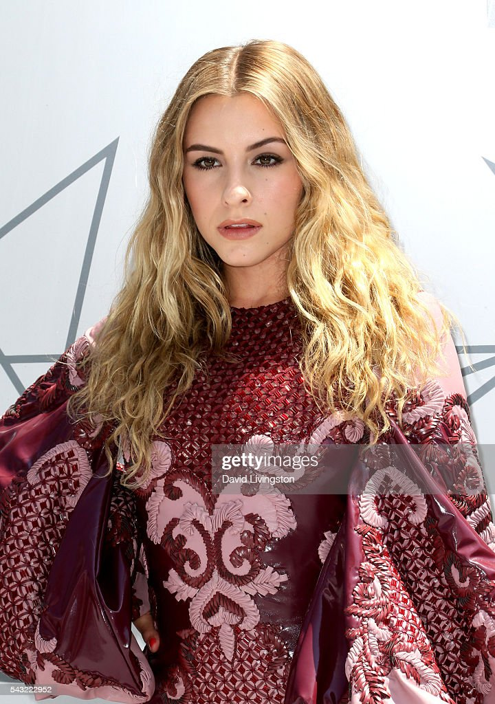 Musical artist Sophie Beem attends the 2016 BET Awards at Microsoft Theater on June 26, 2016 in Los Angeles, California.
