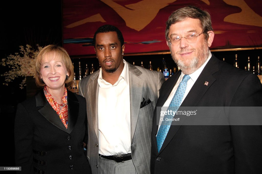 Musical Artist/Entrepreneur Sean 'Diddy Combs' along with Chief Marketing Officer of Diageo Debra Kelly Ennis and EVP Guy Smith announces his...