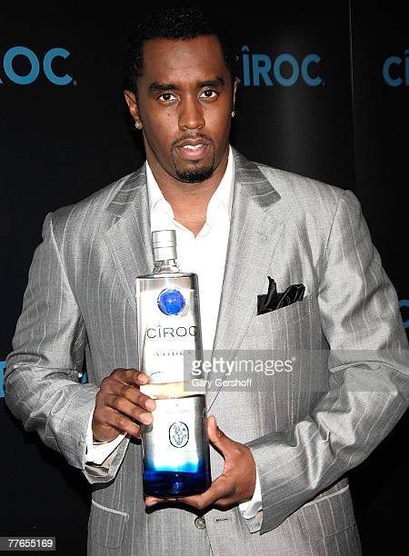 Musical Artist/Entrepreneur Sean 'Diddy' Combs announces his partnership with Diageo North America and Ciroc Premium Vodka at a press conference at...